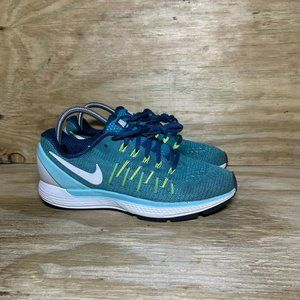 Nike Air Zoom Odyssey 2 Running Shoes Womens Size 8.5 Blue Turquoise 844546-301
